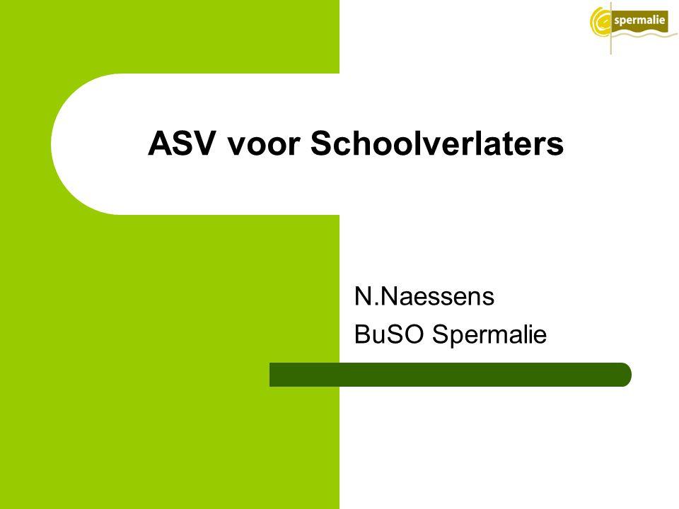 N.Naessens BuSO Spermalie ASV voor Schoolverlaters
