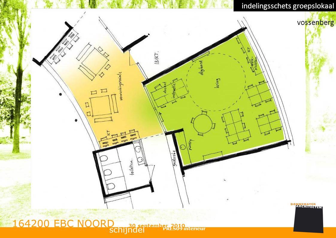 schijndel 164200 EBC NOORD PRES09 interieur 30 september 2010 indelingsschets groepslokaal vossenberg