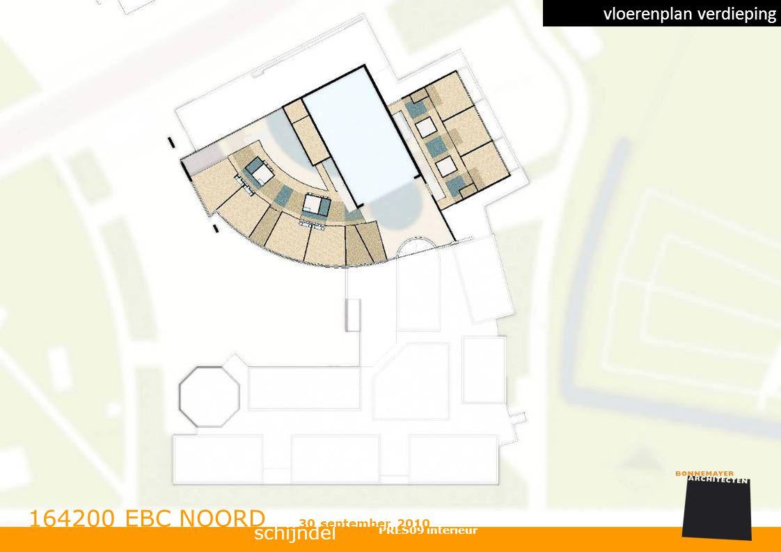 schijndel 164200 EBC NOORD PRES09 interieur 30 september 2010 vloerenplan verdieping