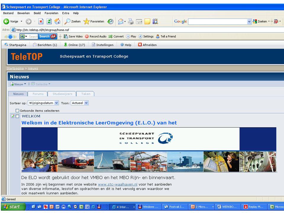 Haven logistiek Medewerker niveau 2 Coordinator niveau 3 Manager niveau 4 BOL/BBL