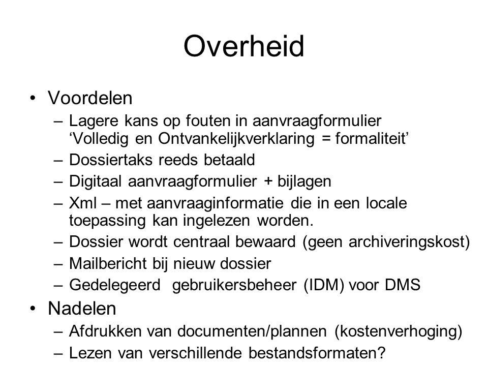 Ontwerp - Wetgeving Aanpassing MVD en BVR
