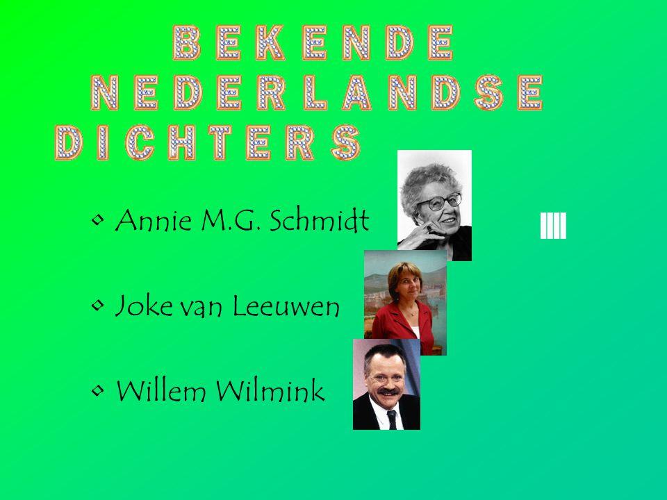 Annie M.G. Schmidt Joke van Leeuwen Willem Wilmink