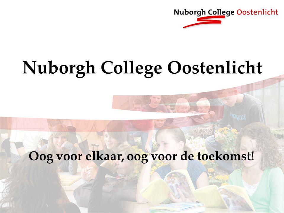 Nuborgh College Oostenlicht Oog voor elkaar, oog voor de toekomst!