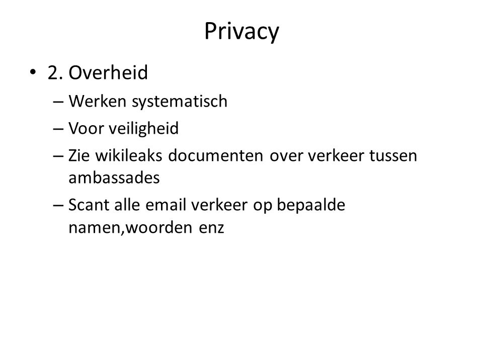 Privacy 3.