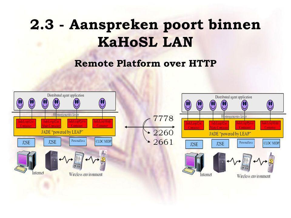 7778 2260 2661 Remote Platform over HTTP 2.3 - Aanspreken poort binnen KaHoSL LAN