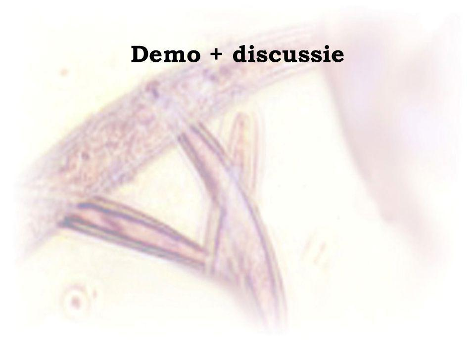 Demo + discussie