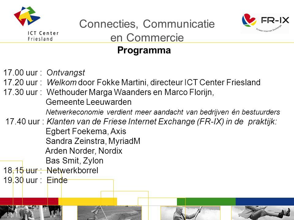 Connecties, Communicatie en Commercie AXIS-COMPANY BV Egbert Foekema