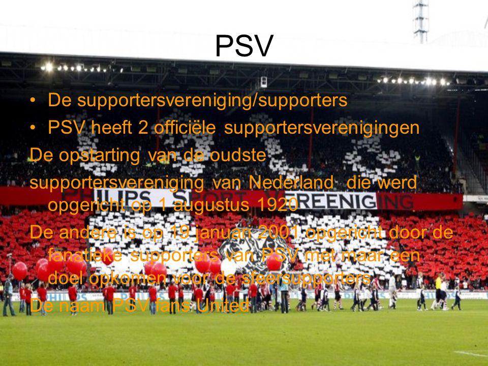 Mijn eigen mening Ik vond het echt leuk om een PowerPoint te maken over PSV want ik ben een echte fan van PSV ik ga al vanaf ik 10 ben mee met mijn eigen vader mee.