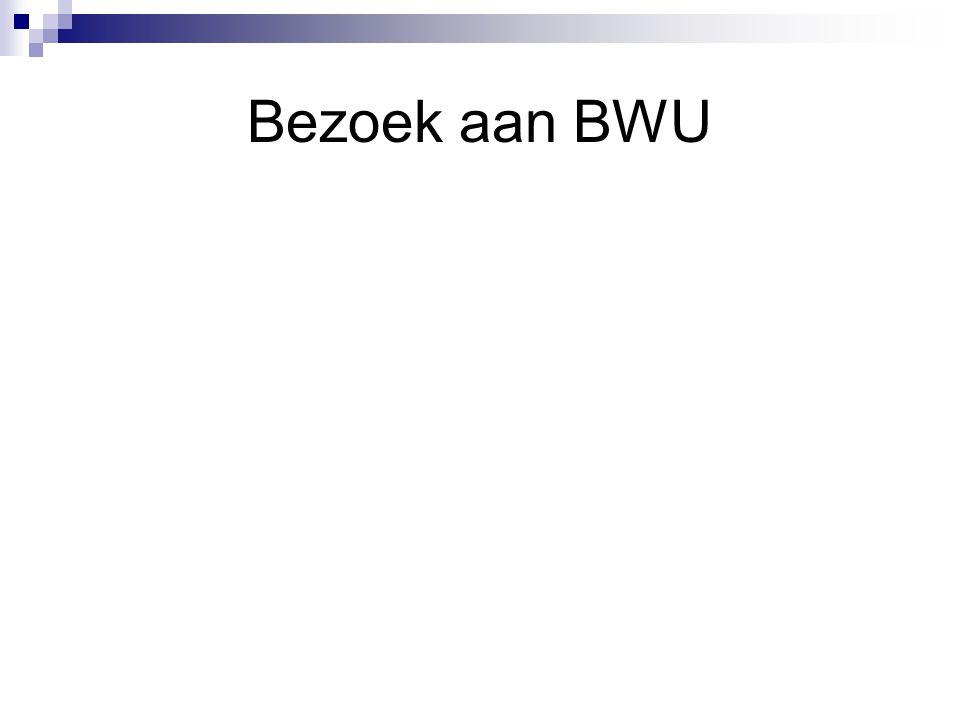 Bezoek aan BWU
