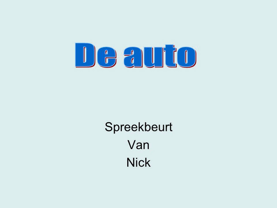 Spreekbeurt Van Nick