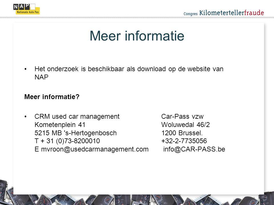 Het onderzoek is beschikbaar als download op de website van NAP Meer informatie.