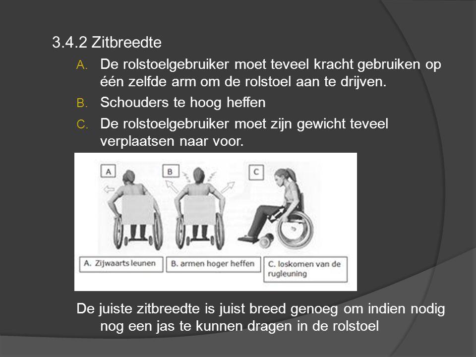 3.4.2 Zitbreedte A.