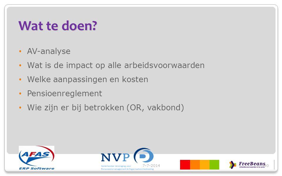 Informatie en hand-out www.nvp-plaza.nlwww.nvp-plaza.nl voor leden NVP www.afas.nlwww.afas.nl voor relaties www.hr-kiosk.nlwww.hr-kiosk.nl permanente info voor HR www.werkkostenregeling.infowww.werkkostenregeling.info werkkosten 7-7-201441