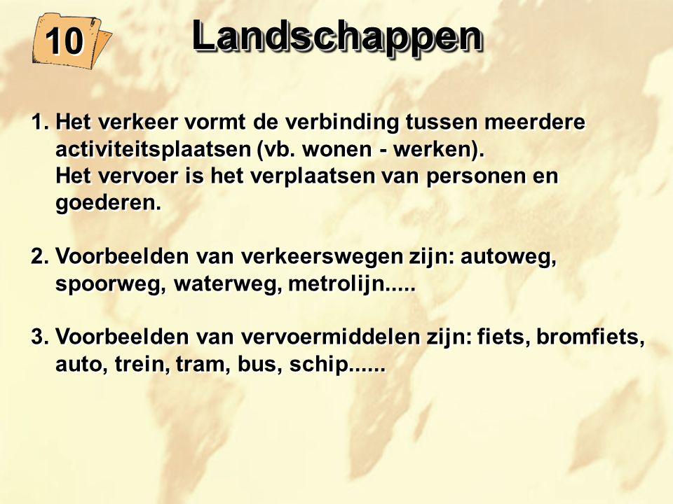 10 LandschappenLandschappen 1.