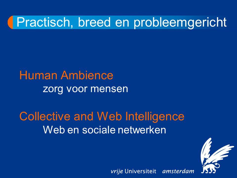 Mensenkennis in Omgeving en Internet Daarna: kennis verwerken in hulpmiddelen in de omgeving of op internet.