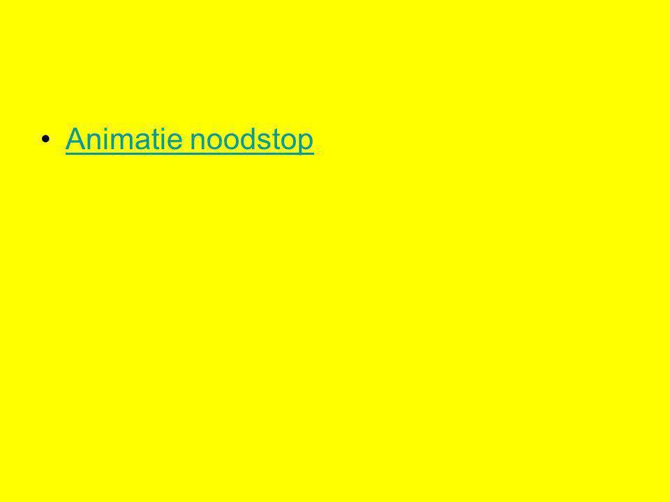 Animatie noodstop