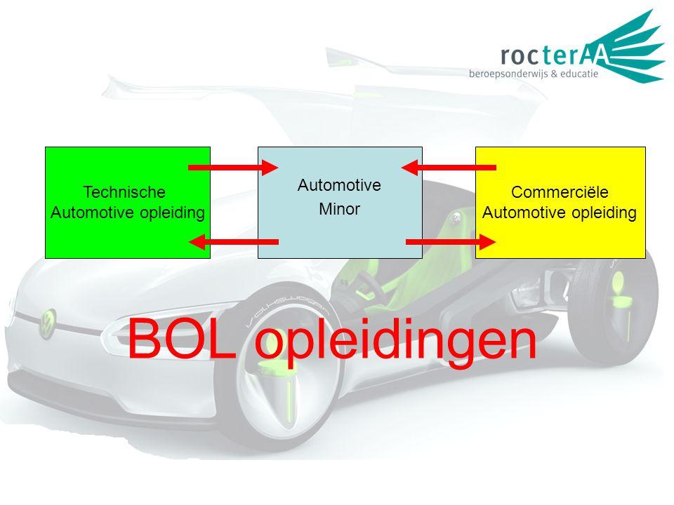 BOL opleidingen Technische Automotive opleiding Automotive Minor Commerciële Automotive opleiding