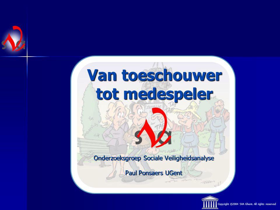 Copyright ©2004 SVA Ghent. All rights reserved Deel I : Overlast
