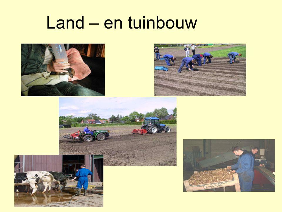 Land – en tuinbouw
