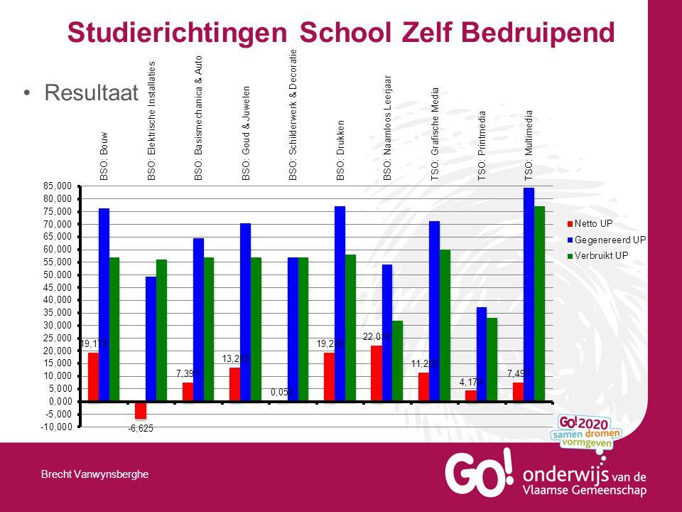 Studierichtingen School Zelf Bedruipend Resultaat Brecht Vanwynsberghe