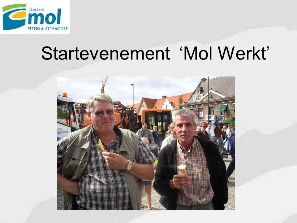 Startevenement 'Mol Werkt'