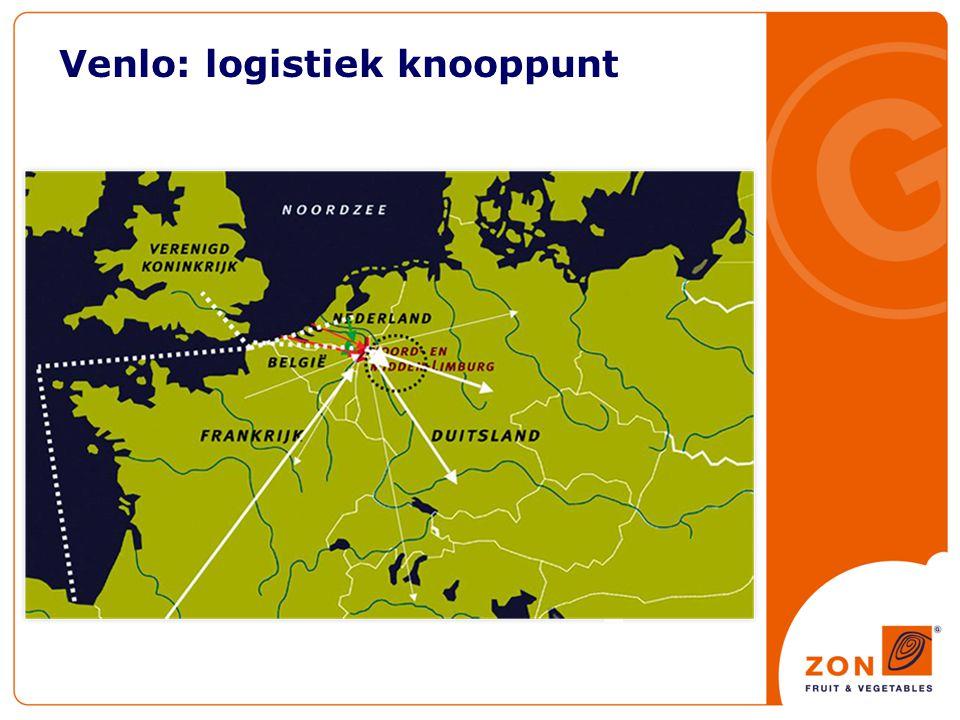 Venlo: logistiek knooppunt