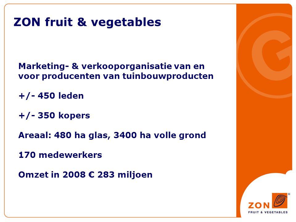 ZON fruit & vegetables - Assortiment