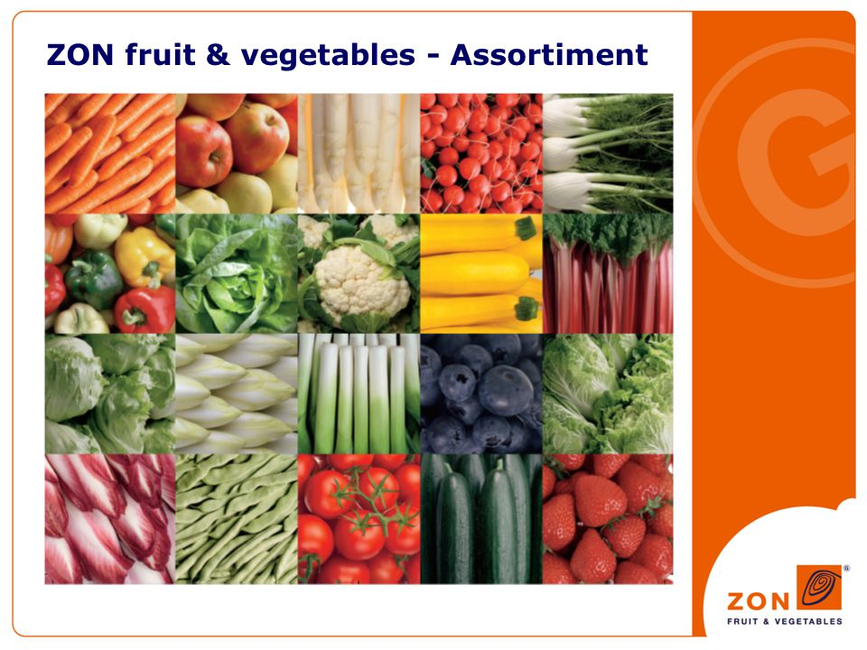 ZON fruit & vegetables - Assortiment