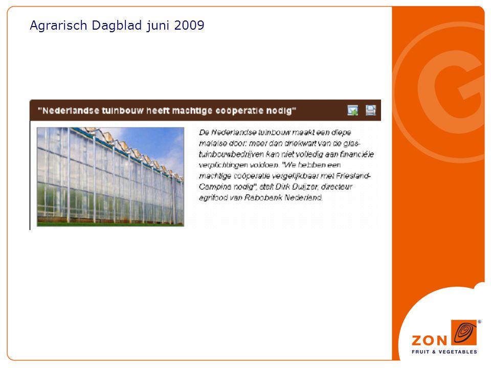 Agrarisch Dagblad juni 2009
