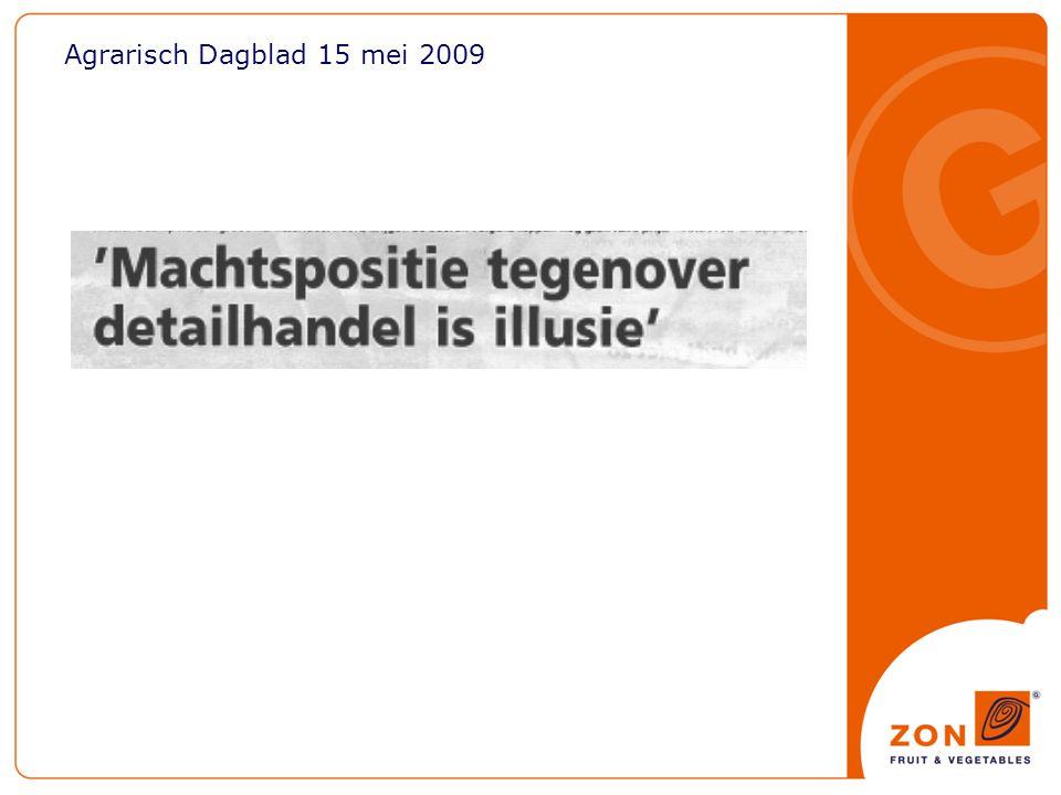 Agrarisch Dagblad 15 mei 2009