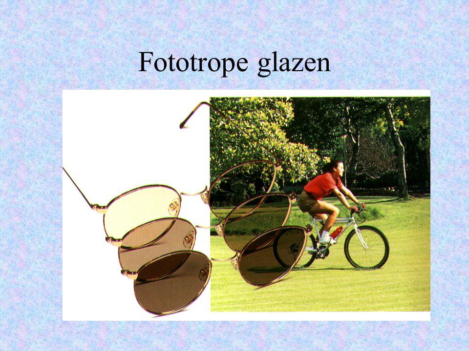 Fototrope glazen