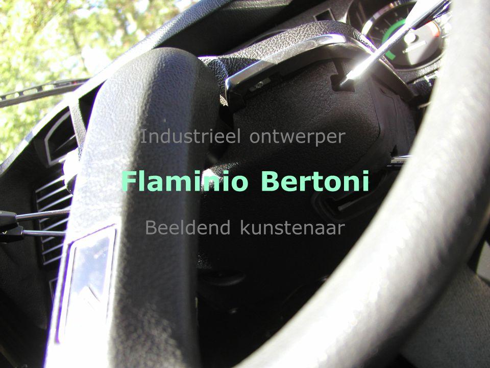 Flaminio Bertoni Beeldend kunstenaar Industrieel ontwerper