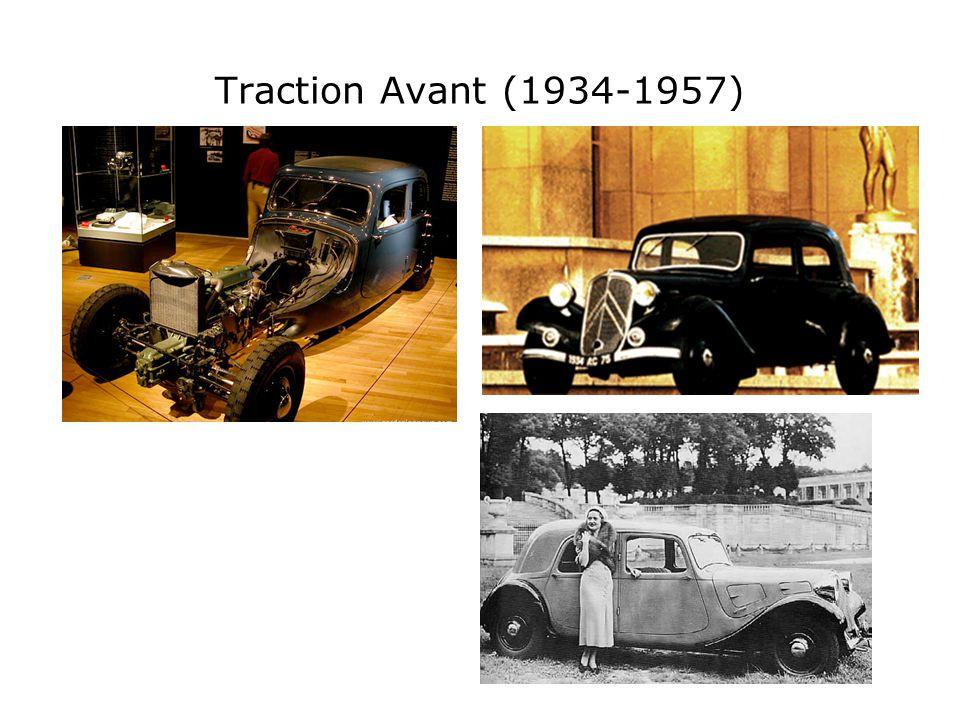 Traction Avant (1934-1957)