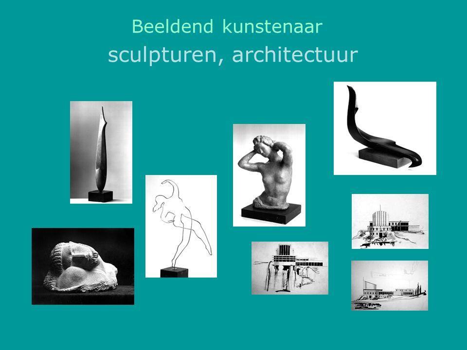 sculpturen, architectuur Beeldend kunstenaar