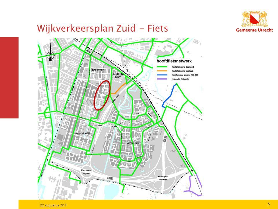 5 22 augustus 2011 Wijkverkeersplan Zuid - Fiets