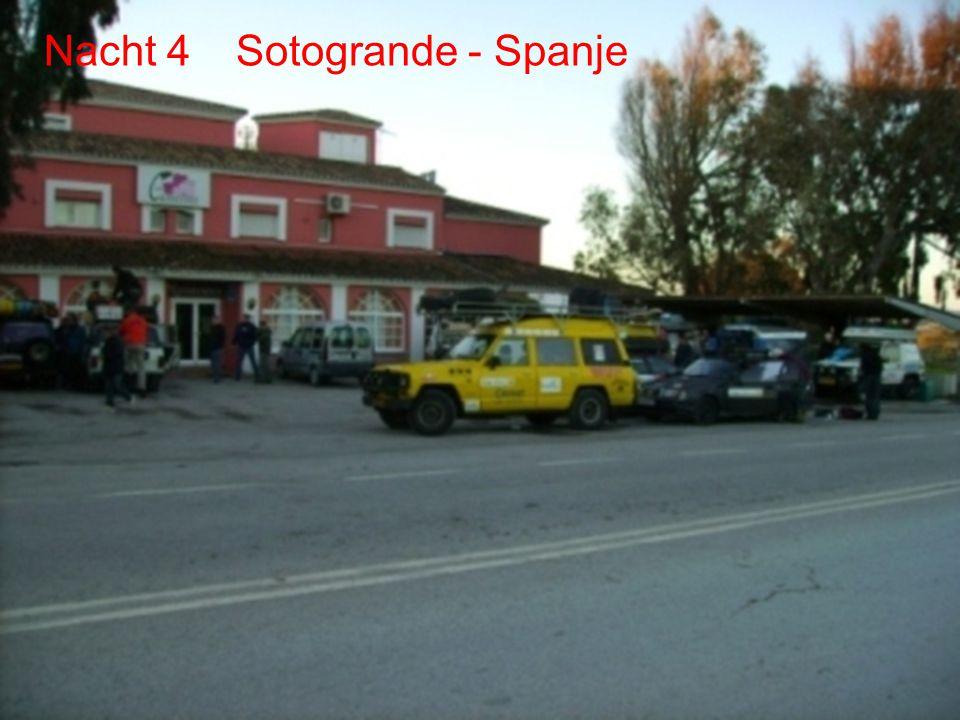 De route Dag3&4 Sotogrande