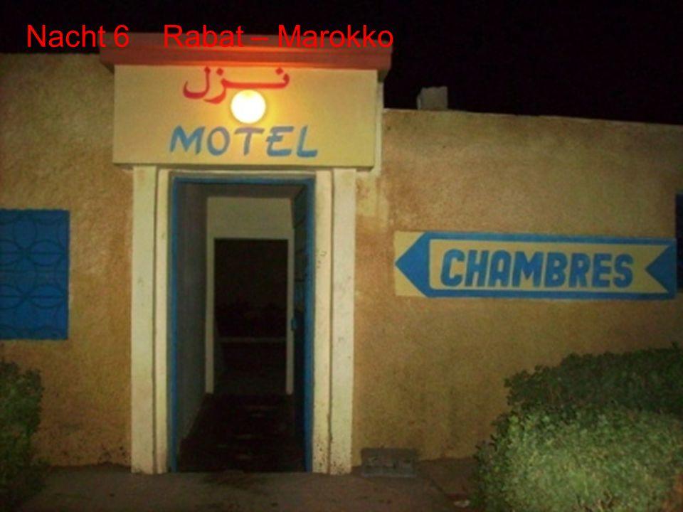Dag 5 Chefchaoun Dag 6 Rabat De route Dag 6 - Rabat
