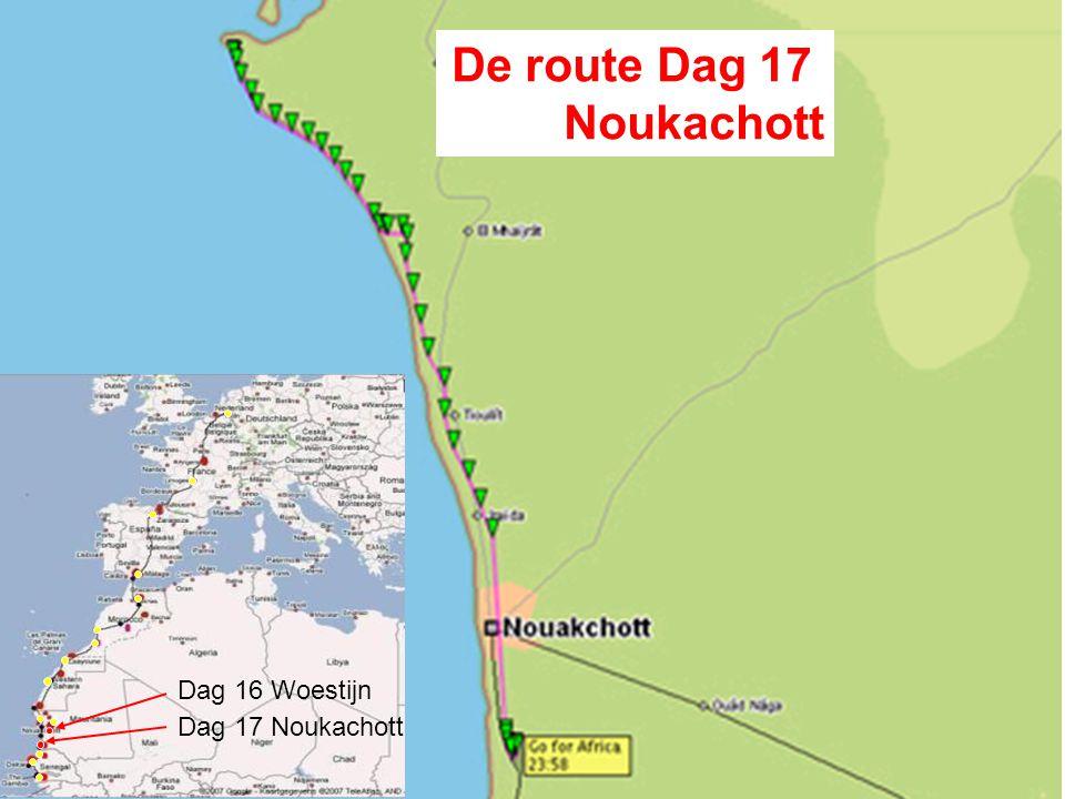 Nacht 16 derde woestijn dag - Mauritanië