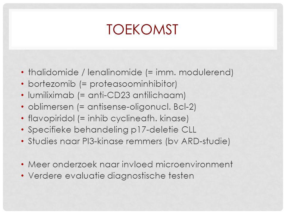 TOEKOMST thalidomide / lenalinomide (= imm.