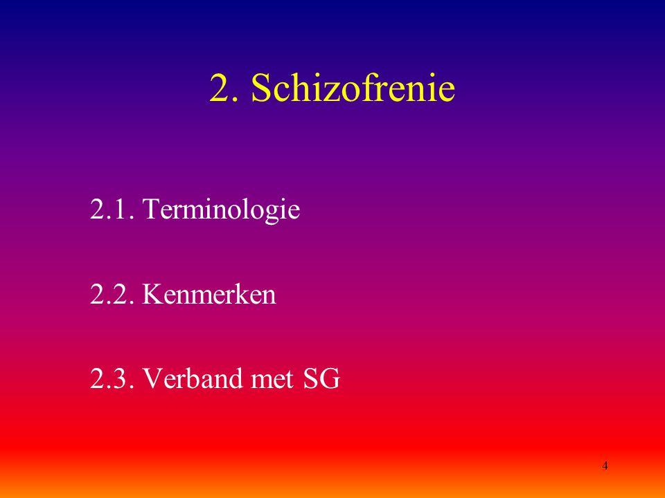 15 Andere psychosen (vervolg) 3.1.