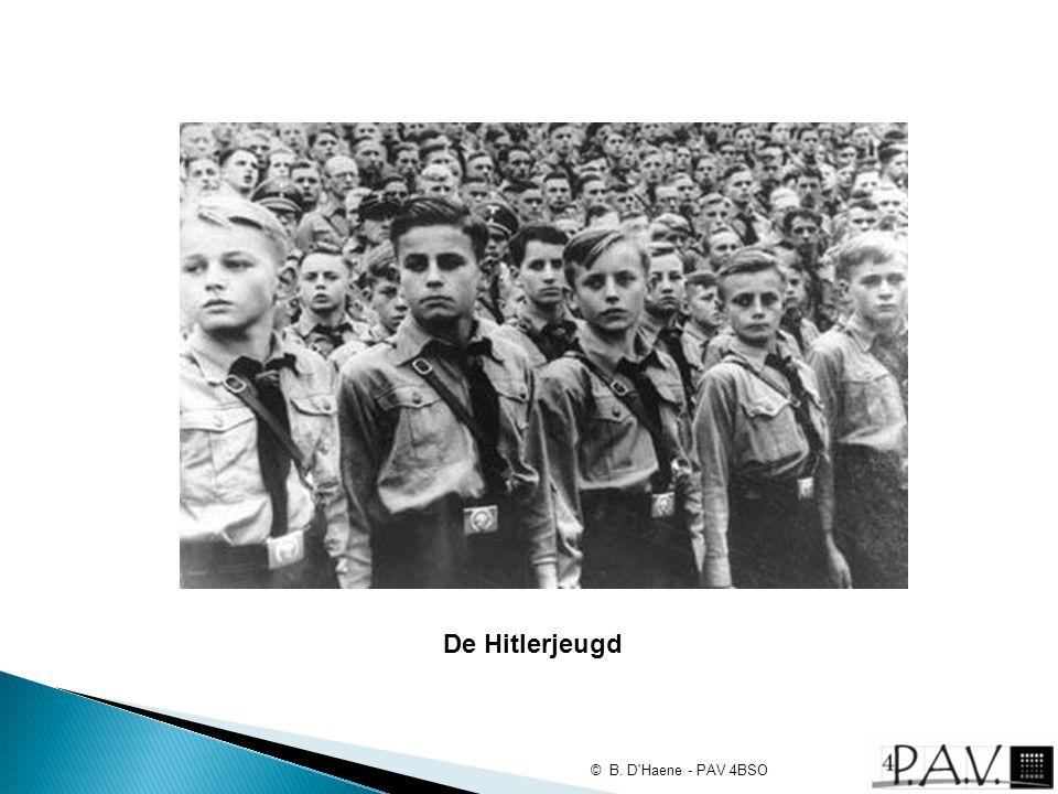 De Hitlerjeugd © B. D'Haene - PAV 4BSO
