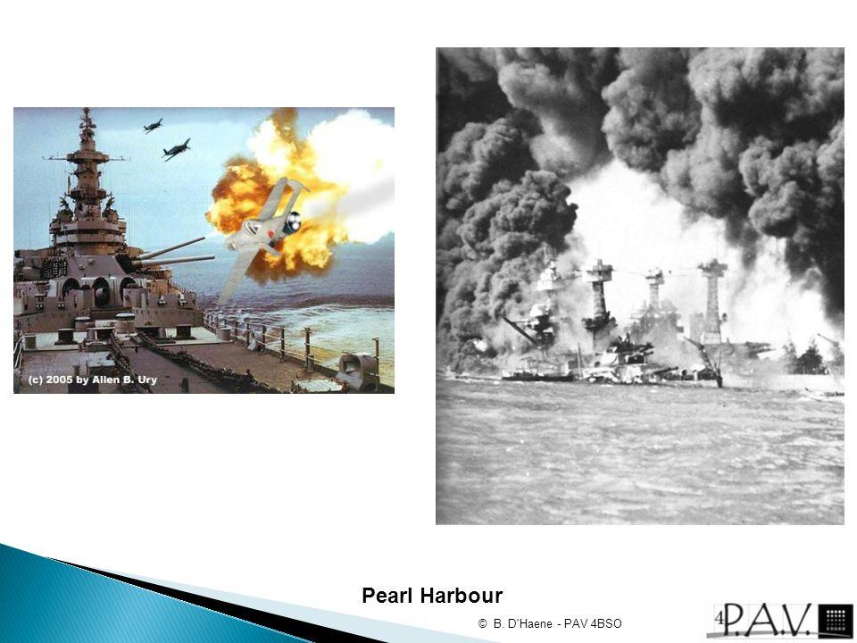 Pearl Harbour © B. D'Haene - PAV 4BSO