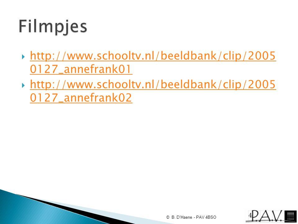  http://www.schooltv.nl/beeldbank/clip/2005 0127_annefrank01 http://www.schooltv.nl/beeldbank/clip/2005 0127_annefrank01  http://www.schooltv.nl/bee