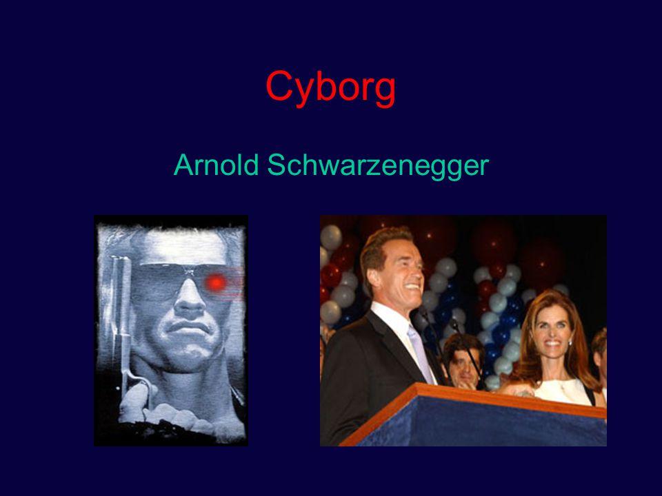 Cyborg Arnold Schwarzenegger