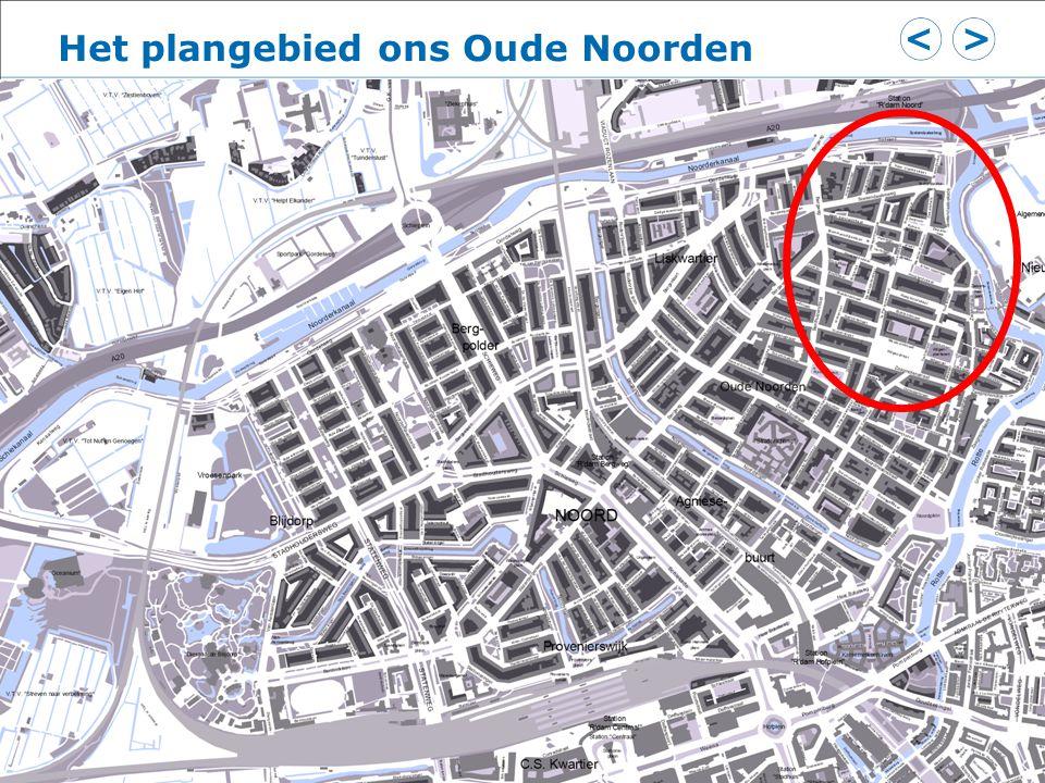 Het plangebied ons Oude Noorden