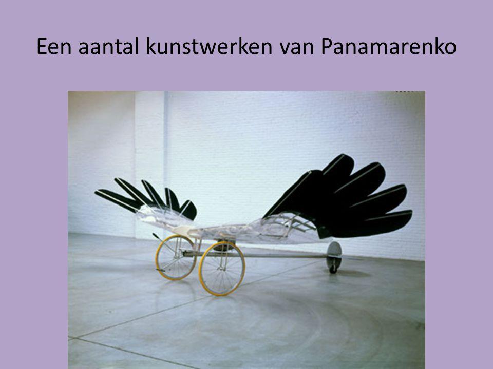 Een aantal kunstwerken van Panamarenko
