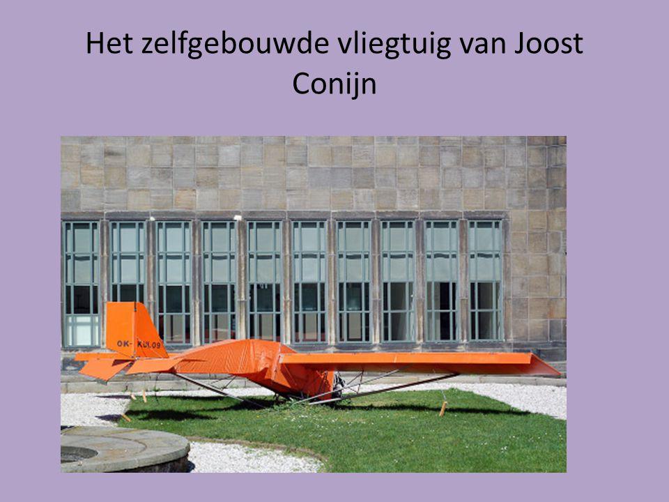 Het zelfgebouwde vliegtuig van Joost Conijn