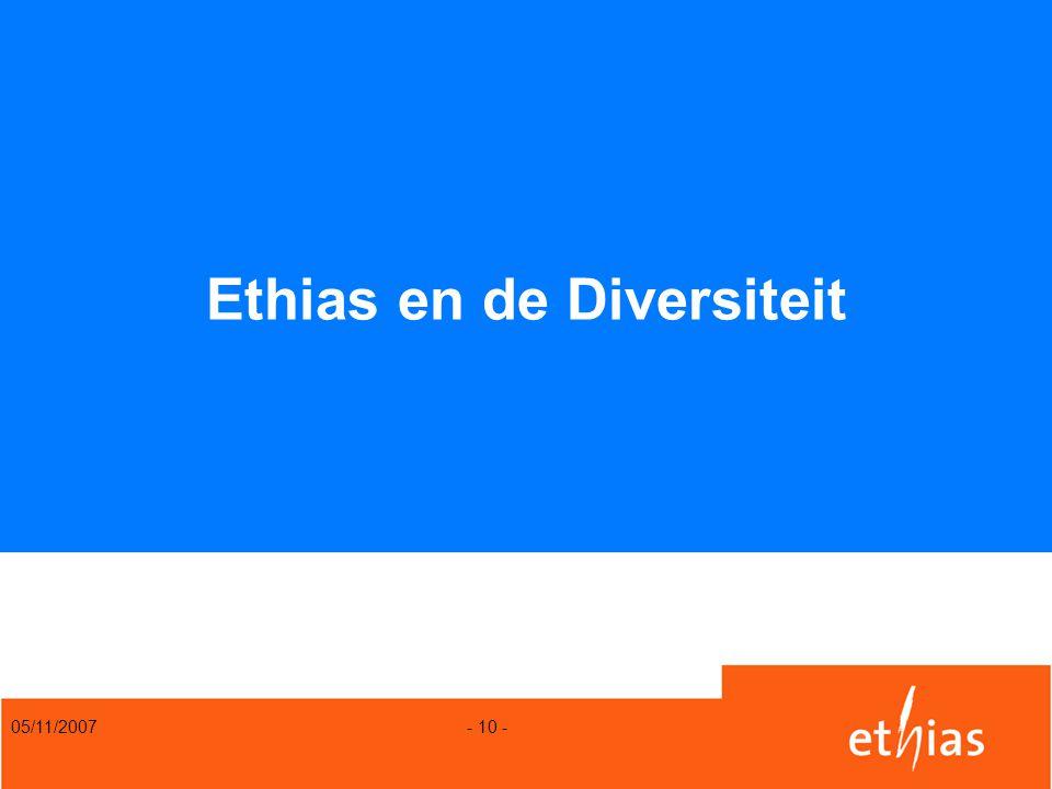 05/11/2007 - 10 - Ethias en de Diversiteit