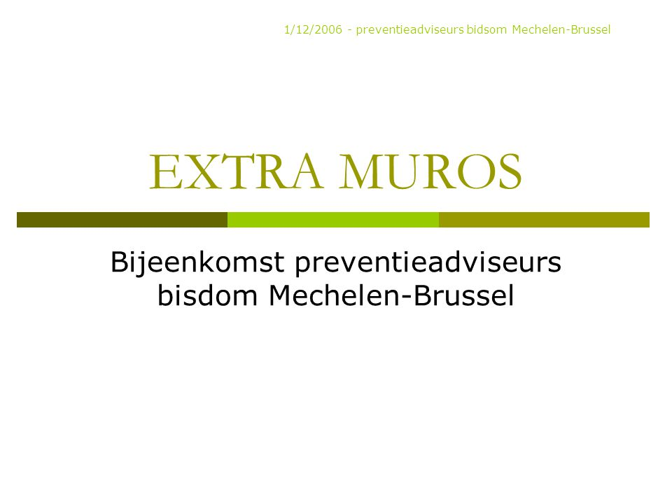 RIE EMA's Risico Inventarisatie en Evaluatie 1.