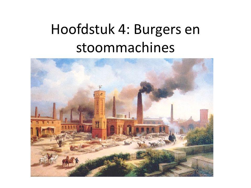 Hoofdstuk 4: Burgers en stoommachines